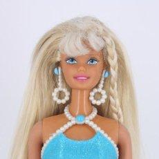Barbie y Ken: BARBIE PEARL BEACH CON PENDIENTES Y TOP ORIGINALES - MATTEL, 1997. Lote 207046026