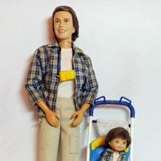 Barbie y Ken: MUÑECA COLECCION Nº56 HAPPY FAMILY 2002. Lote 207236550