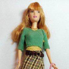 Barbie y Ken: MUÑECA COLECCION Nº141 FASHION FEVER RAQUELLE. Lote 208419495
