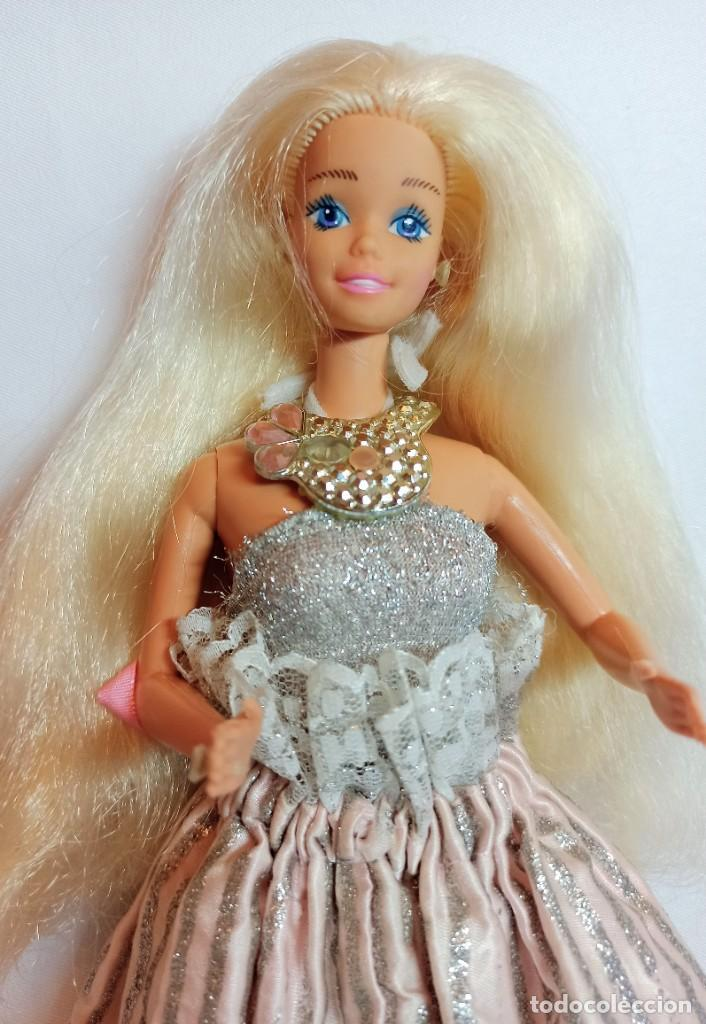 Barbie y Ken: Muñeca coleccion Nº167 Barbie Jewel Secrets 1986,SPAIN - Foto 2 - 208883877