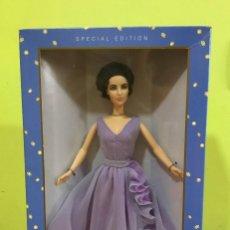 Barbie y Ken: BARBIE DE COLECCIÓN ELIZABETH TAYLOR 2000. SE PUEDE PAGAR CON FACILIDADES. Lote 209721293