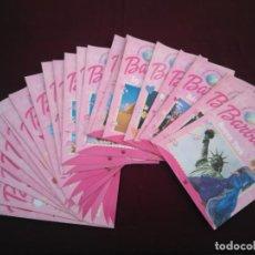 Barbie y Ken: DESCUBRE EL MUNDO CON BARBIE - LOTE DE 24 REVISTAS, TODAS FOTOGRAFIADAS, BUEN ESTADO GENERAL. Lote 210007121