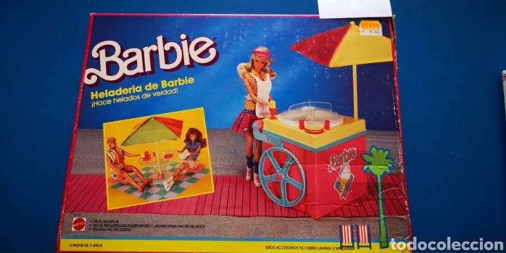 BARBIE HELADERIA A ESTRENAR (Juguetes - Muñeca Extranjera Moderna - Barbie y Ken)