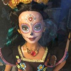 Barbie y Ken: BARBIE DE COLECCIÓN DIÁ DE LOS MUERTOS. LA MÁS HERMOSA DE TODAS LAS CATRINAS. AÑO 2019. Lote 289452583