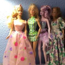 Barbie y Ken: GRUPO DE MUÑECAS BARBIES .. Lote 212134805