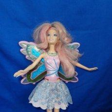Barbie y Ken: BARBIE - ANTIGUA MUÑECA BARBIE MARIPOSA AÑO 2004, FUNCIONA! SM. Lote 212517398