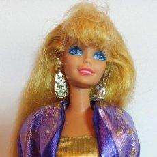 Barbie y Ken: MUÑECA COLECCION Nº285 BARBIE HOLLYWOOD HAIR MORADA. Lote 212554132
