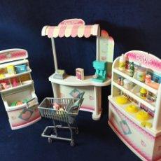 Barbie y Ken: MUEBLES Y COMPLEMENTOS SUPERMERCADO. Lote 212800615