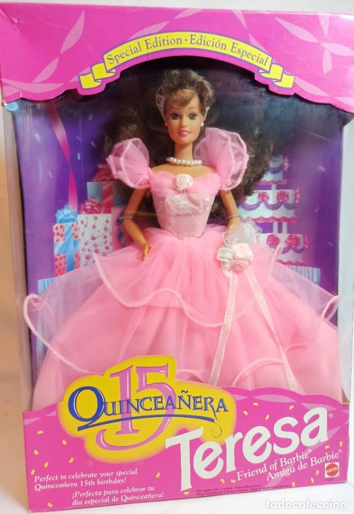 MUÑECA Nº328 BARBIE TERESA CUMPLEAÑERA 1994 (Juguetes - Muñeca Extranjera Moderna - Barbie y Ken)