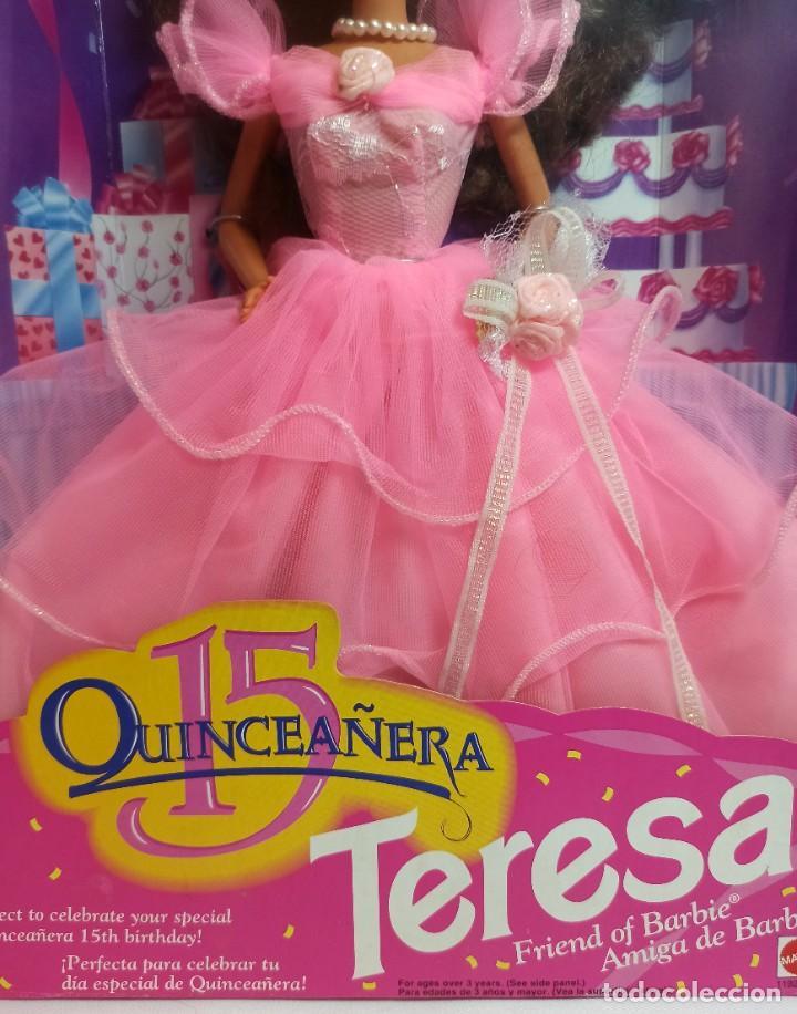 Barbie y Ken: Muñeca Nº328 Barbie Teresa Cumpleañera 1994 - Foto 3 - 213357287