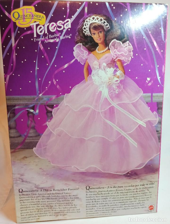 Barbie y Ken: Muñeca Nº328 Barbie Teresa Cumpleañera 1994 - Foto 4 - 213357287