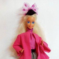Barbie y Ken: MUÑECA Nº343 BARBIE PRET-A-PORTER LONDON MADE IN SPAIN. Lote 213360031
