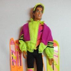 Barbie y Ken: MUÑECA BARBIE Nº357 KEN DEPORTES DE INVIERNO WINTER SPORT. Lote 213911873