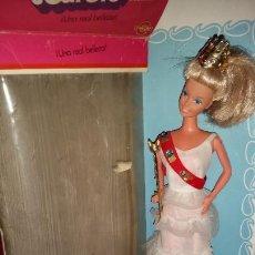 Barbie y Ken: PRECIOSA Y DIFICIL BARBIE PRINCESA DE CONGOST +REGALO. Lote 214829043