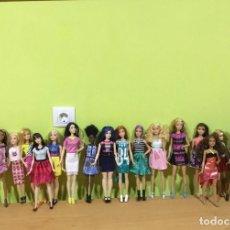 Barbie y Ken: PRIMERA SERIE MUÑECAS BARBIE FASHIONISTAS. AÑO 2016. CASI COMPLETA. SE PUEDE PAGAR CON FACILIDADES.. Lote 214944837