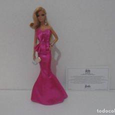 Barbie y Ken: BARBIE DE COLECCION, LOOK RED CARPET, CERTIFICADO DE AUTENTICIDAD, 2013 MATTEL. Lote 215076597