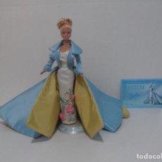 Barbie y Ken: BARBIE DE COLECCION, COUTURE SERENADE IN SATIN, CERTIFICADO DE AUTENTICIDAD, 1996 MATTEL. Lote 215077077