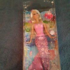 Barbie y Ken: PRECIOSA MUÑECA BARBIE SIRENA CON CAJA ORIGINAL. Lote 215115196