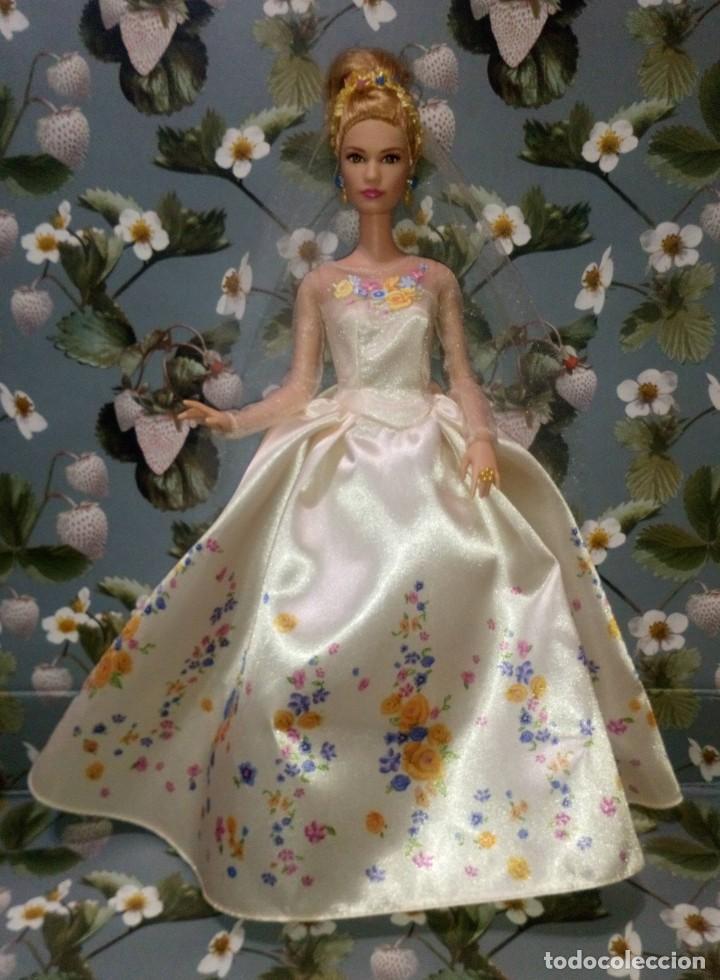 GUAPISIMA MUÑECA BARBIE CENICIENTA-CINDERELLA, NOVIA, DIA DE BODA-WEDDING DAY - MATTEL - 2014 (Juguetes - Muñeca Extranjera Moderna - Barbie y Ken)