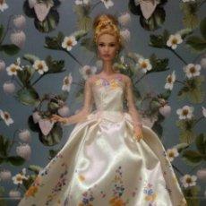 Barbie y Ken: GUAPISIMA MUÑECA BARBIE CENICIENTA-CINDERELLA, NOVIA, DIA DE BODA-WEDDING DAY - MATTEL - 2014. Lote 215391695