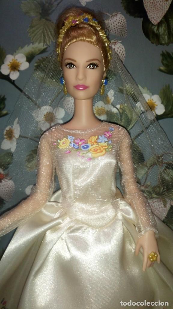 Barbie y Ken: GUAPISIMA MUÑECA BARBIE CENICIENTA-CINDERELLA, NOVIA, DIA DE BODA-WEDDING DAY - MATTEL - 2014 - Foto 2 - 215391695