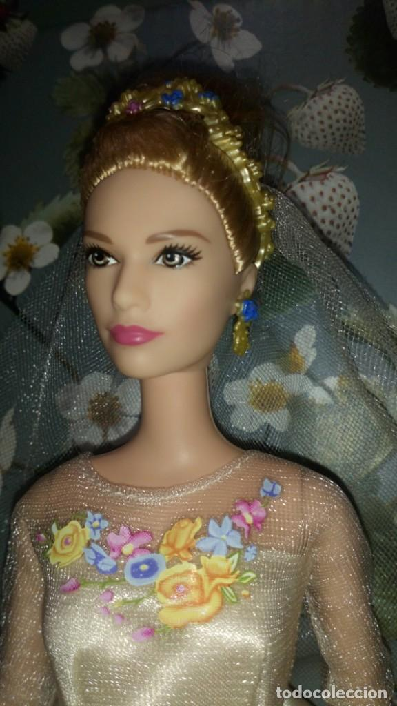 Barbie y Ken: GUAPISIMA MUÑECA BARBIE CENICIENTA-CINDERELLA, NOVIA, DIA DE BODA-WEDDING DAY - MATTEL - 2014 - Foto 3 - 215391695