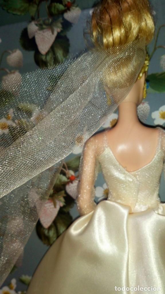 Barbie y Ken: GUAPISIMA MUÑECA BARBIE CENICIENTA-CINDERELLA, NOVIA, DIA DE BODA-WEDDING DAY - MATTEL - 2014 - Foto 6 - 215391695