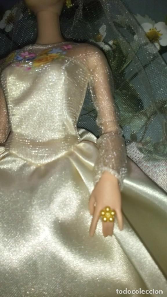 Barbie y Ken: GUAPISIMA MUÑECA BARBIE CENICIENTA-CINDERELLA, NOVIA, DIA DE BODA-WEDDING DAY - MATTEL - 2014 - Foto 7 - 215391695