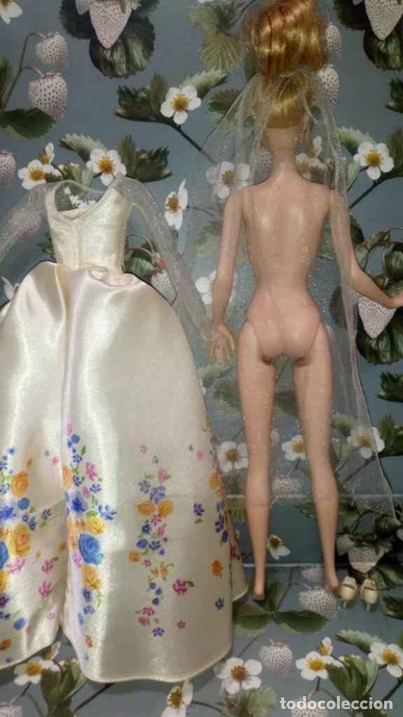 Barbie y Ken: GUAPISIMA MUÑECA BARBIE CENICIENTA-CINDERELLA, NOVIA, DIA DE BODA-WEDDING DAY - MATTEL - 2014 - Foto 13 - 215391695