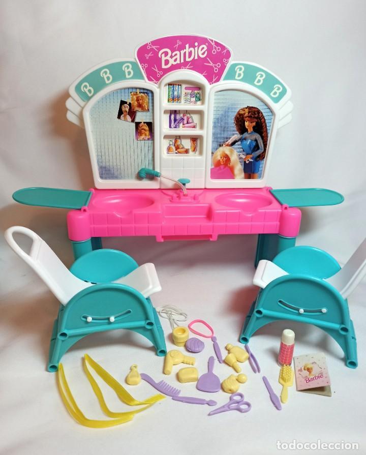 PELUQUERIA DE MUÑECA BARBIE CUT 'N STYLE ANTIGUA. (Juguetes - Muñeca Extranjera Moderna - Barbie y Ken)
