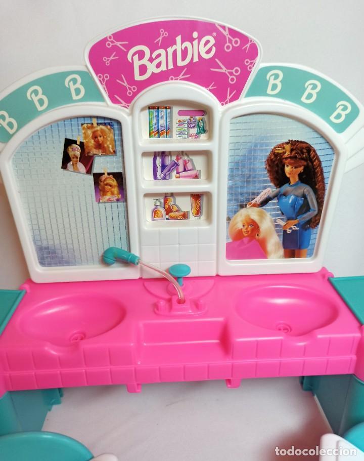 Barbie y Ken: Peluqueria de muñeca Barbie Cut n style antigua. - Foto 2 - 216615093