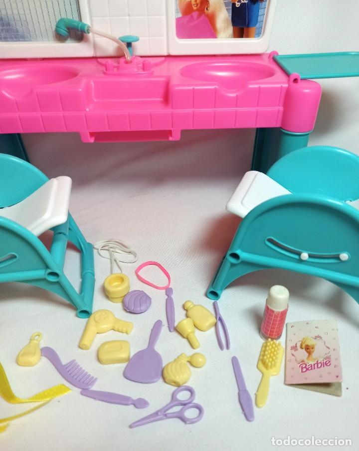 Barbie y Ken: Peluqueria de muñeca Barbie Cut n style antigua. - Foto 4 - 216615093