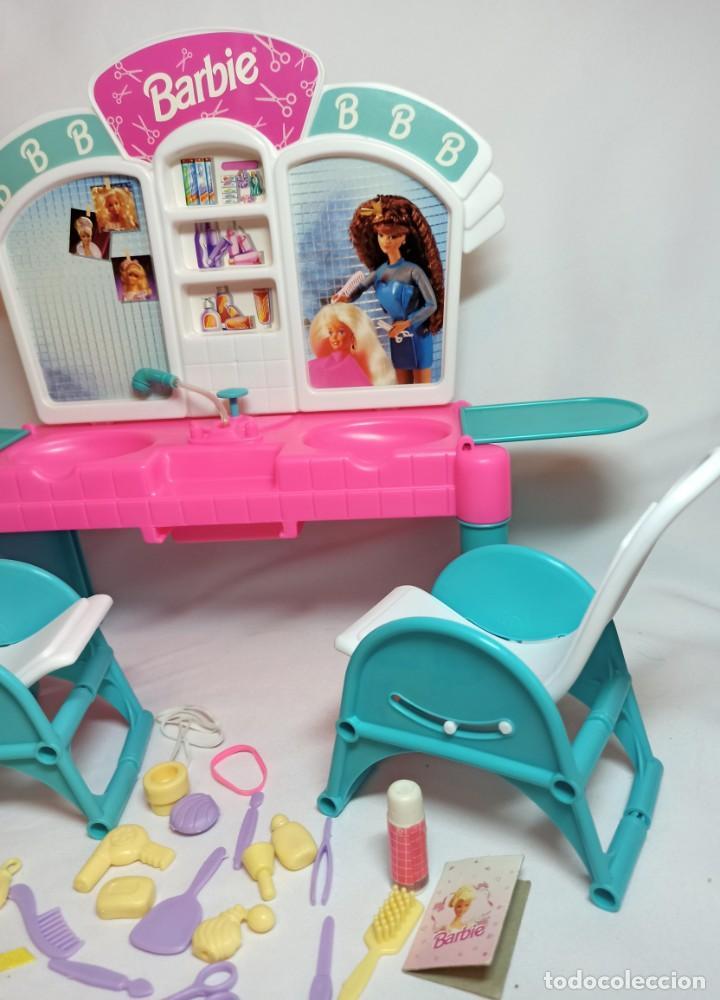 Barbie y Ken: Peluqueria de muñeca Barbie Cut n style antigua. - Foto 5 - 216615093