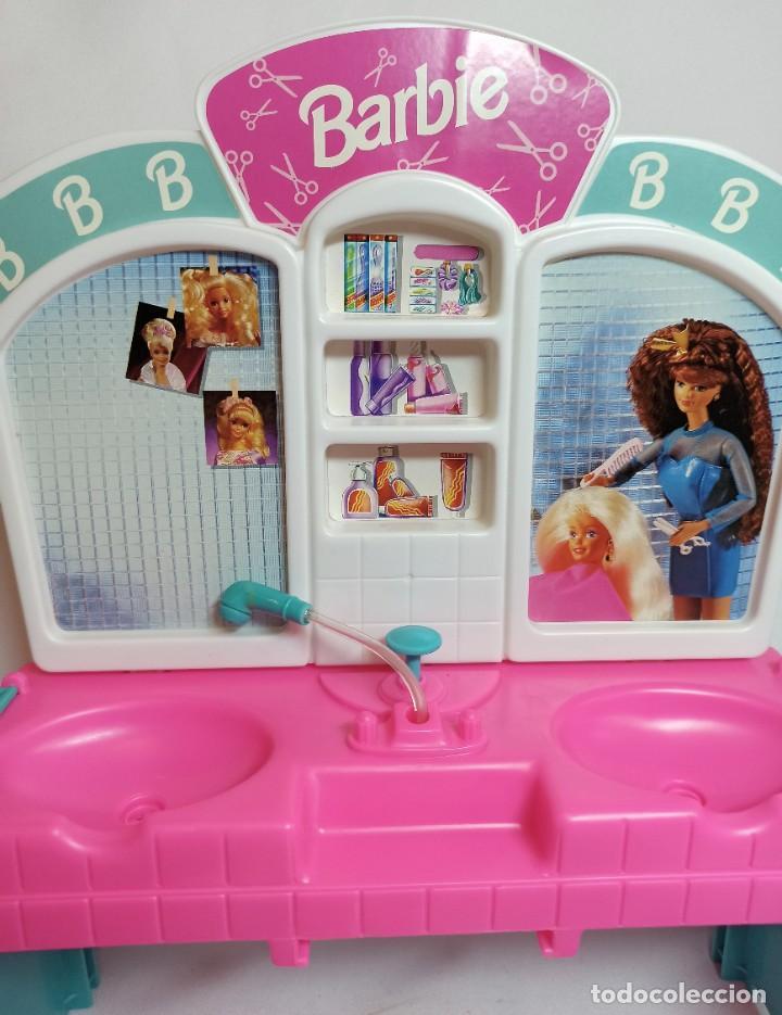 Barbie y Ken: Peluqueria de muñeca Barbie Cut n style antigua. - Foto 7 - 216615093