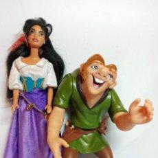 Barbie y Ken: MUÑECA COLECCION Nº482 BARBIE ESMERALDA Y EL JOROBADO DE NOTREDAM,DISNEY. Lote 218326733