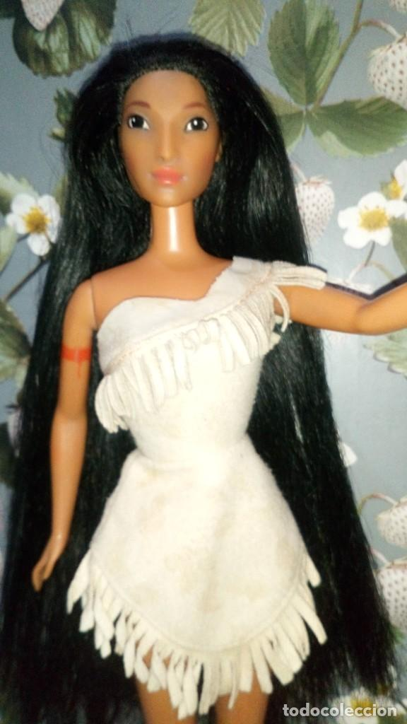 Barbie y Ken: PRECIOSA MUÑECA BARBIE POCAHONTAS, DISNEY - MATTEL - 1995, DOLL, POUPÉE - Foto 2 - 218539127
