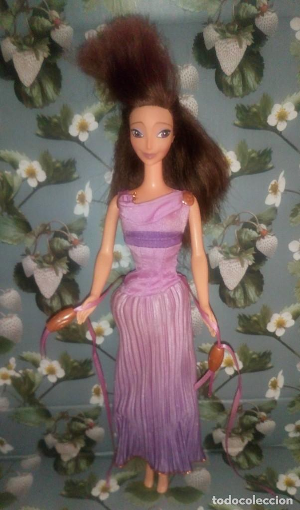 BONITA MUÑECA BARBIE MEGARA DE HERCULES DE DISNEY - MATTEL - 1997 (Juguetes - Muñeca Extranjera Moderna - Barbie y Ken)