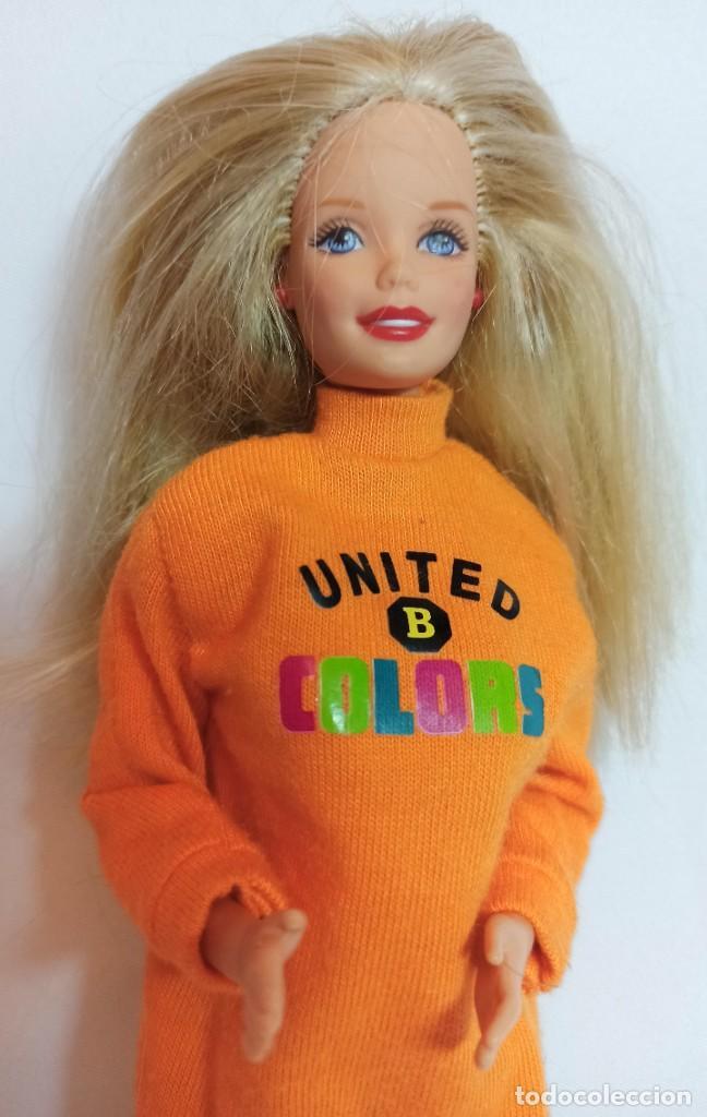 Barbie y Ken: Muñeca Coleccion Nº512 Barbie Benetton - Foto 2 - 218737762