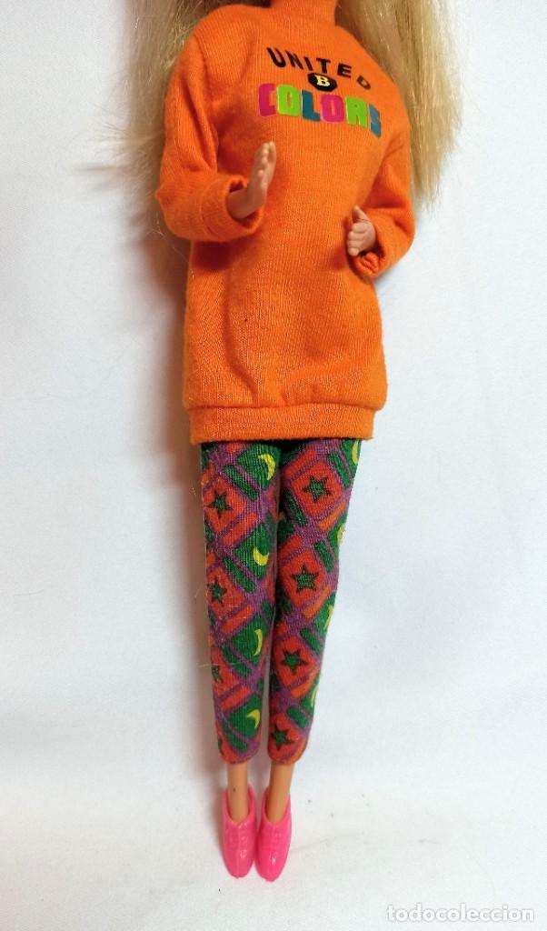 Barbie y Ken: Muñeca Coleccion Nº512 Barbie Benetton - Foto 3 - 218737762