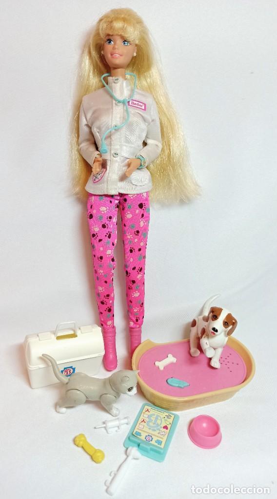 MUÑECA COLECCION Nº513 BARBIE DOCTORA DE ANIMALES (Juguetes - Muñeca Extranjera Moderna - Barbie y Ken)