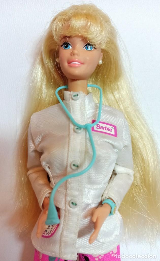 Barbie y Ken: Muñeca Coleccion Nº513 Barbie Doctora de animales - Foto 2 - 218737825