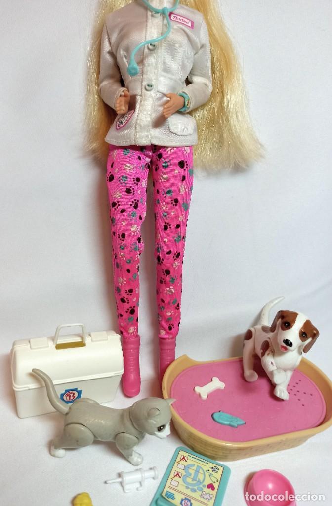 Barbie y Ken: Muñeca Coleccion Nº513 Barbie Doctora de animales - Foto 4 - 218737825
