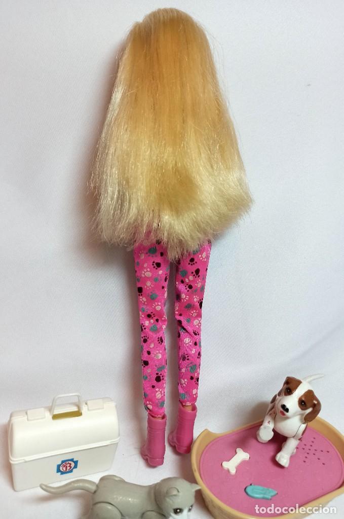 Barbie y Ken: Muñeca Coleccion Nº513 Barbie Doctora de animales - Foto 5 - 218737825