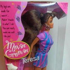 Barbie y Ken: MUÑECA COLECCION Nº570 BARBIE TERESA MOVIN GROOVIN. Lote 220548096