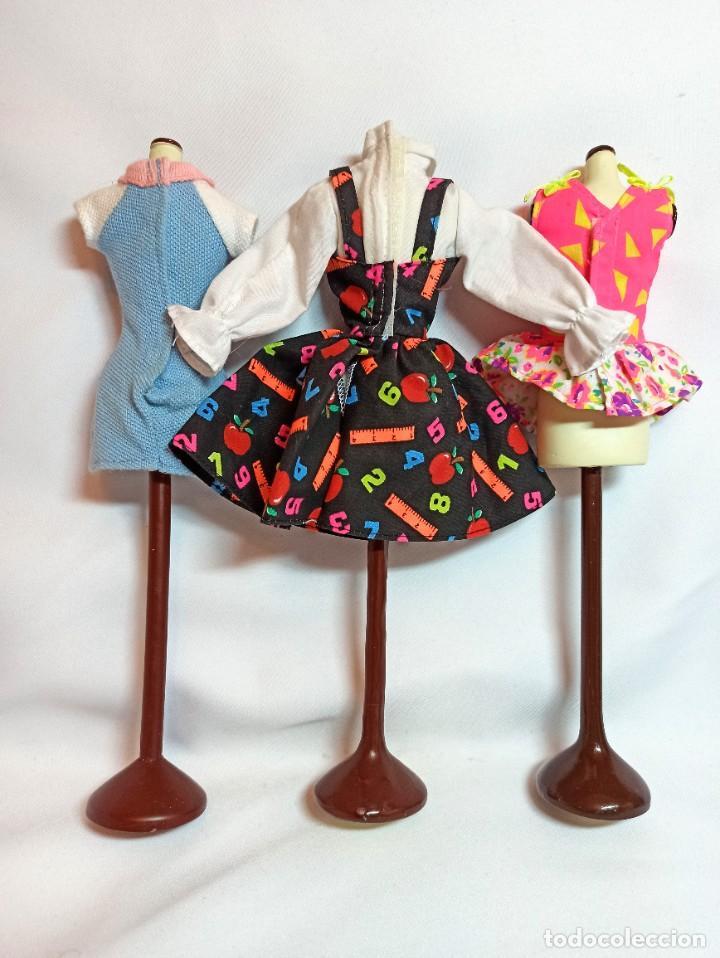 Barbie y Ken: Vestidos Coleccion Nº31 Tres vestidos originales de Barbie - Foto 2 - 220784605