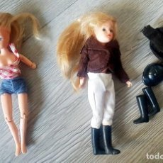 """Barbie y Ken: 2 MUÑECAS SINDY """"SARAH LOUISE"""" DE DEBENHAMS. Lote 221327805"""