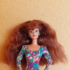 Barbie y Ken: MUÑECA BARBIE MATTEL CUELLO 1985 ARTICULADA. Lote 221443615