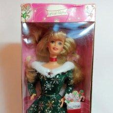 Barbie y Ken: COLECCION BARBIE Nº667 BARBIE FESTIVE SEASON BARBIE EDICION ESPECIAL 1997. Lote 221601210