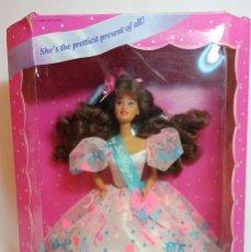 Barbie y Ken: COLECCION BARBIE Nº671 BARBIE TERESA BIRTHDAY 1994. Lote 221602181