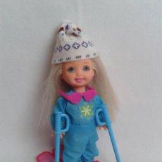 Barbie y Ken: MUÑECA ESQUIADORA HERMANA DE BARBIE 1994. Lote 221619258